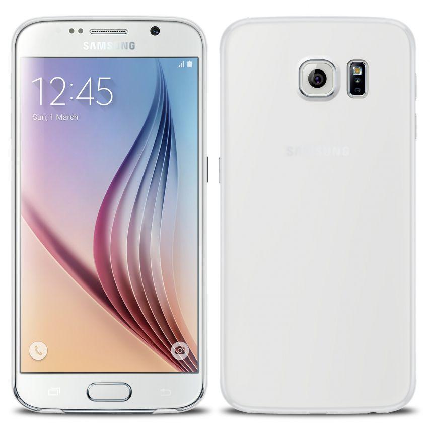 Vue détaillée de Coque Ultra Fine 0.3mm Frost Samsung Galaxy S6 Transparente