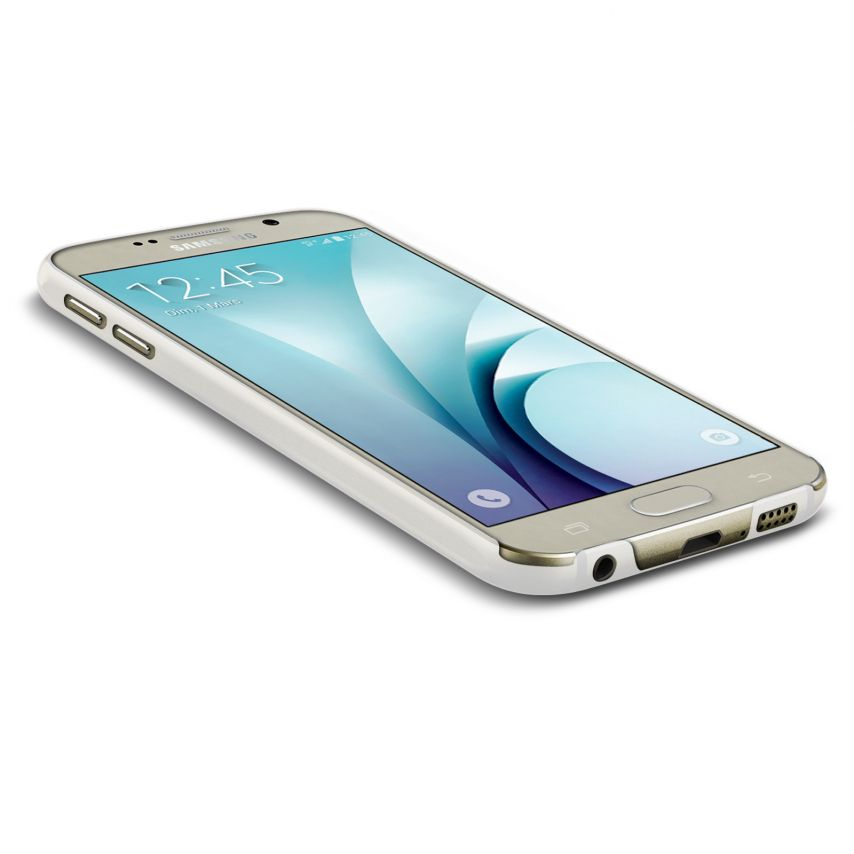 Zoom sur Coque Ultra Fine 0.3mm Frost Samsung Galaxy S6 Transparente