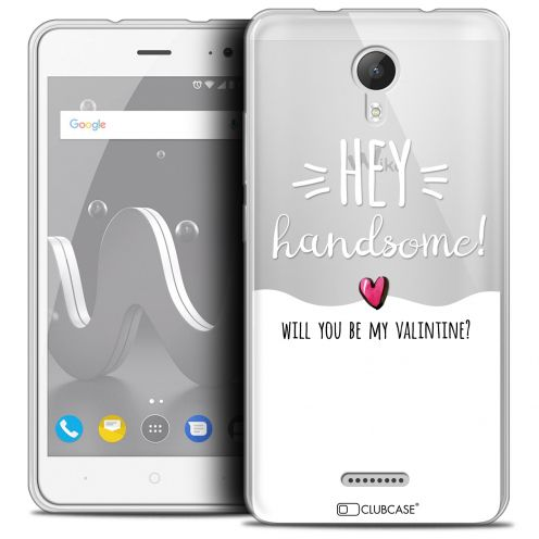 "Coque Crystal Gel Wiko Jerry 2 (5"") Extra Fine Love - Hey Handsome !"
