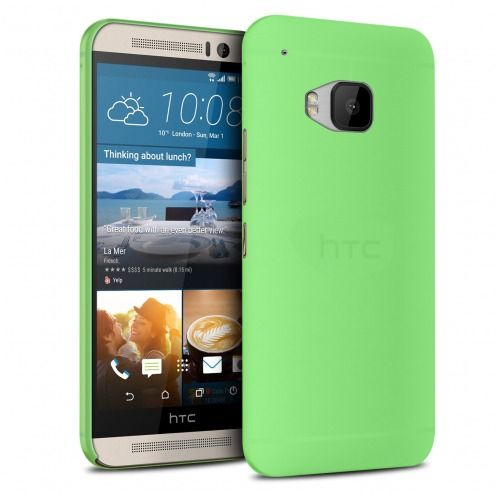 Vue Principale de Coque Ultra Fine 0.3mm Frost HTC One M9 Verte
