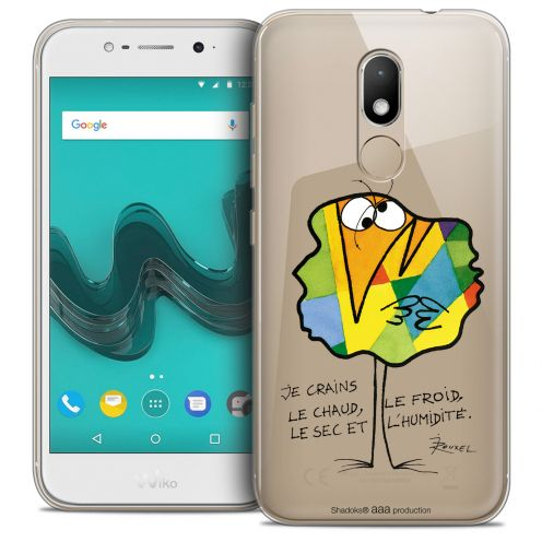 """Coque Gel Wiko Wim LITE (5.0"""") Extra Fine Les Shadoks® - Chaud ou Froid"""