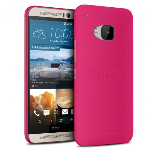 Coque Ultra Fine 0.3mm Frost HTC One M9 Fuchsia