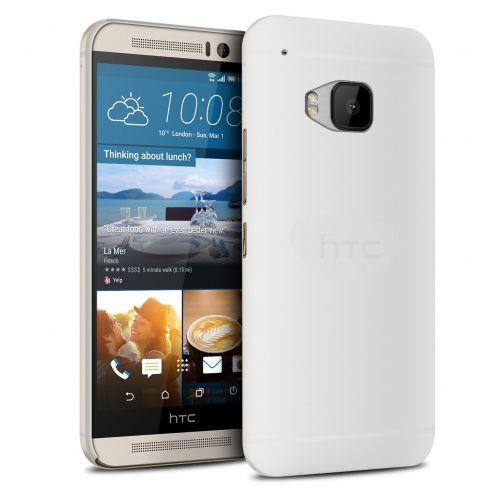 Vue Principale de Coque Ultra Fine 0.3mm Frost HTC One M9 Transparente