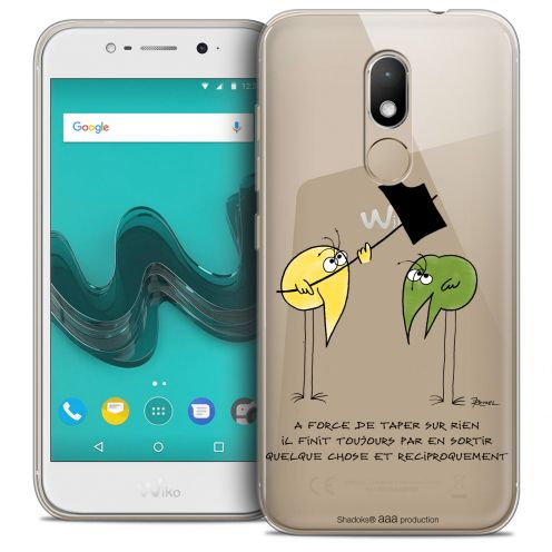 """Coque Gel Wiko Wim LITE (5.0"""") Extra Fine Les Shadoks® - A Force"""