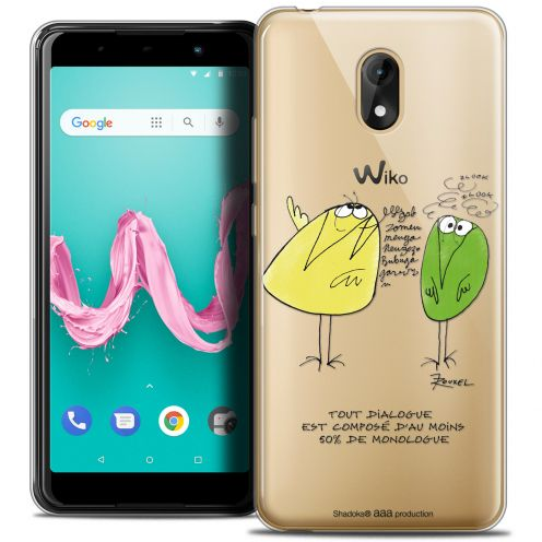 "Coque Gel Wiko Lenny 5 (5.7"") Extra Fine Les Shadoks® - Le Dialogue"