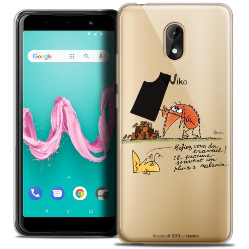 "Coque Gel Wiko Lenny 5 (5.7"") Extra Fine Les Shadoks® - Le Travail"
