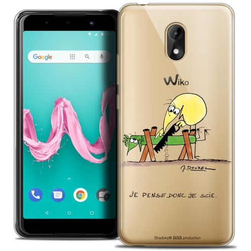 "Coque Gel Wiko Lenny 5 (5.7"") Extra Fine Les Shadoks® - Je pense Donc"
