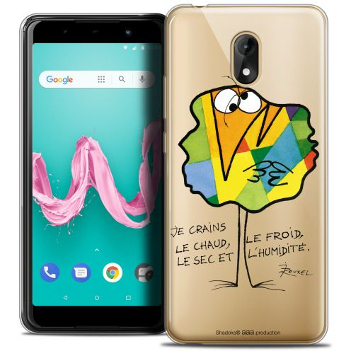 "Coque Gel Wiko Lenny 5 (5.7"") Extra Fine Les Shadoks® - Chaud ou Froid"