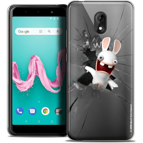 "Coque Gel Wiko Lenny 5 (5.7"") Extra Fine Lapins Crétins™ - Breaking Glass"