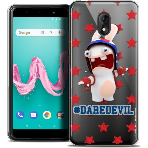 "Coque Gel Wiko Lenny 5 (5.7"") Extra Fine Lapins Crétins™ - Dare Devil"