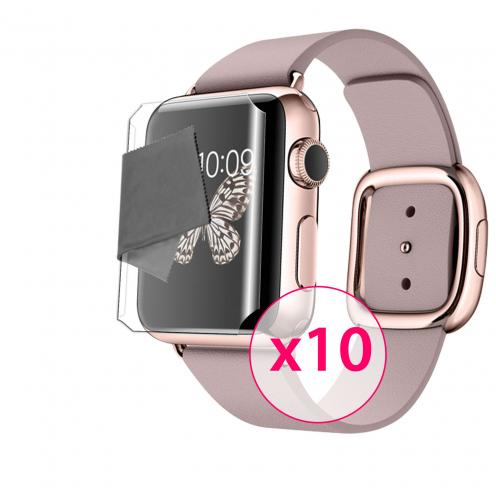 Films de protection Full screen Apple Watch (38 mm) Clubcase ® Clear HD Lot de 10