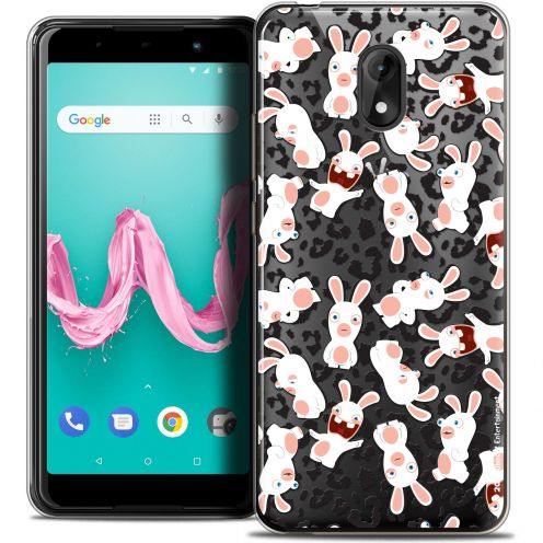 "Coque Gel Wiko Lenny 5 (5.7"") Extra Fine Lapins Crétins™ - Leopard Pattern"