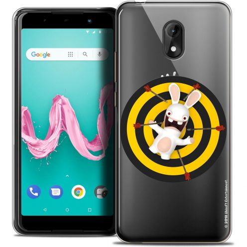 "Coque Gel Wiko Lenny 5 (5.7"") Extra Fine Lapins Crétins™ - Target"