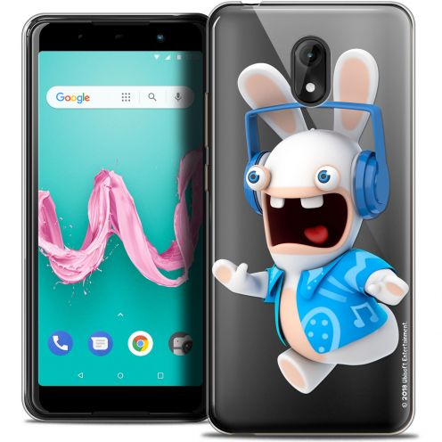 "Coque Gel Wiko Lenny 5 (5.7"") Extra Fine Lapins Crétins™ - Techno Lapin"