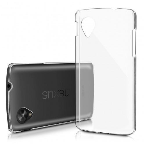 "Coque ""Crystal"" pour LG Nexus 5 transparente"