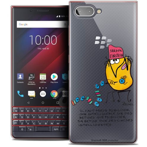 "Coque Gel BlackBerry Key2 LE (4.5"") Extra Fine Les Shadoks® - Einstein"