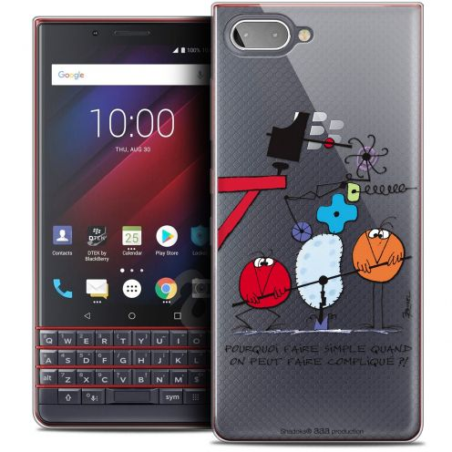 "Coque Gel BlackBerry Key2 LE (4.5"") Extra Fine Les Shadoks® - Pourquoi faire Simple"