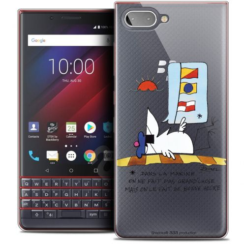 "Coque Gel BlackBerry Key2 LE (4.5"") Extra Fine Les Shadoks® - La Marine"