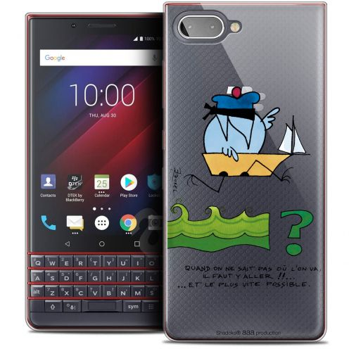 "Coque Gel BlackBerry Key2 LE (4.5"") Extra Fine Les Shadoks® - Il Faut Y Aller !!"