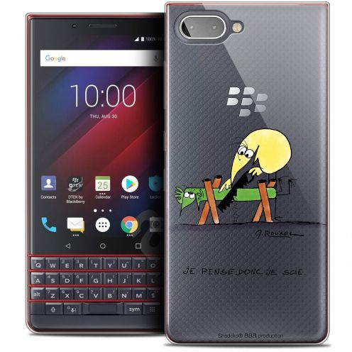 "Coque Gel BlackBerry Key2 LE (4.5"") Extra Fine Les Shadoks® - Je pense Donc"
