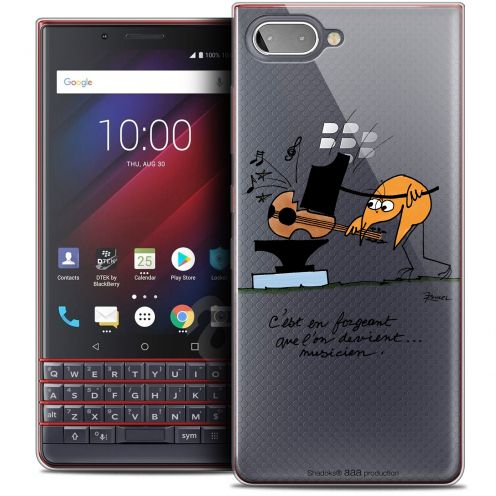 "Coque Gel BlackBerry Key2 LE (4.5"") Extra Fine Les Shadoks® - Musicien"