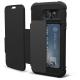 Visuel supplémentaire de Etui Folio Antichoc Galaxy S6 Urban Armor Gear® UAG Scout Folio Noir