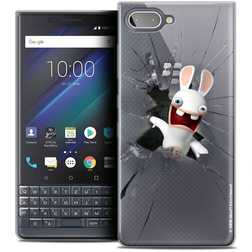 "Coque Gel BlackBerry Key2 LE (4.5"") Extra Fine Lapins Crétins™ - Breaking Glass"