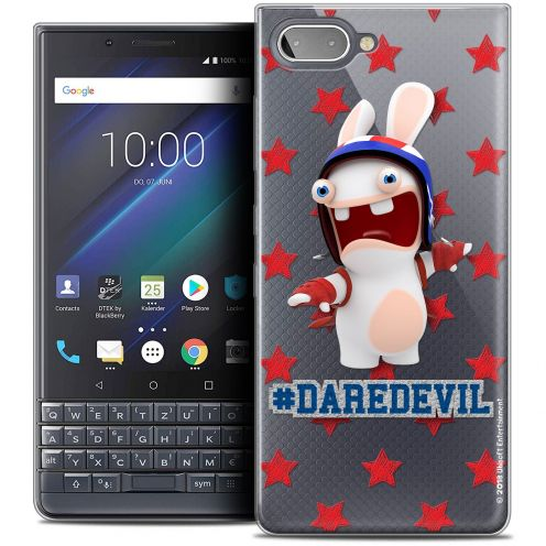"Coque Gel BlackBerry Key2 LE (4.5"") Extra Fine Lapins Crétins™ - Dare Devil"
