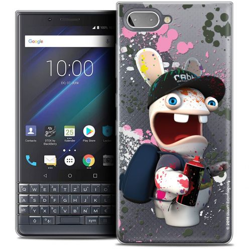 "Coque Gel BlackBerry Key2 LE (4.5"") Extra Fine Lapins Crétins™ - Painter"