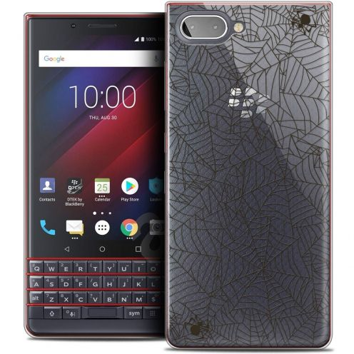 "Coque Crystal Gel BlackBerry Key2 LE (4.5"") Extra Fine Halloween - Spooky Spider"