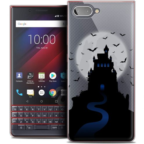 "Coque Crystal Gel BlackBerry Key2 LE (4.5"") Extra Fine Halloween - Castle Nightmare"