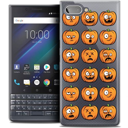 "Coque Crystal Gel BlackBerry Key2 LE (4.5"") Extra Fine Halloween - Cartoon Citrouille"