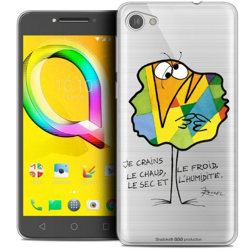 """Coque Gel Alcatel A5 LED (5.2"""") Extra Fine Les Shadoks® - Chaud ou Froid"""