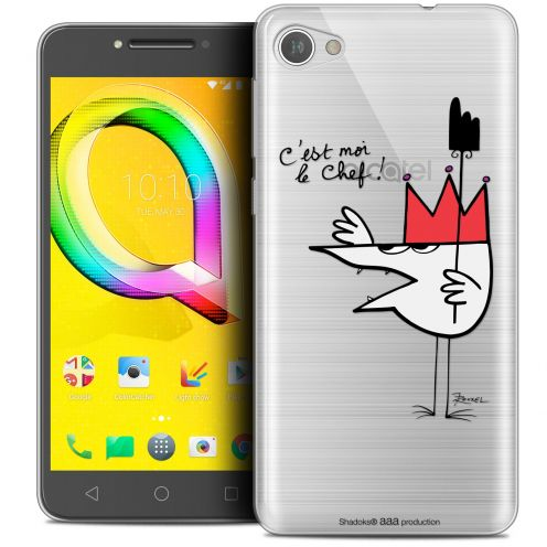 """Coque Gel Alcatel A5 LED (5.2"""") Extra Fine Les Shadoks® - Le Chef"""