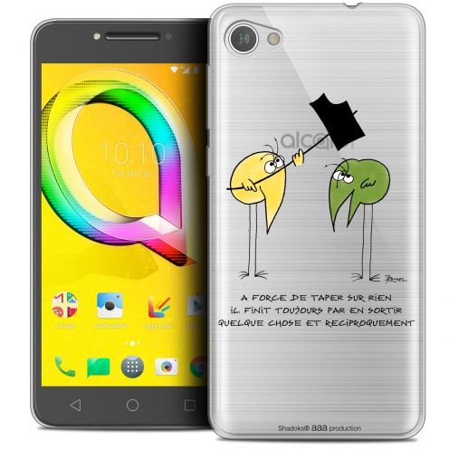 "Coque Gel Alcatel A5 LED (5.2"") Extra Fine Les Shadoks® - A Force"