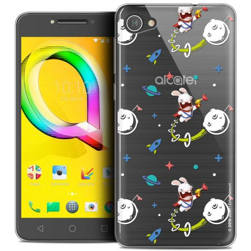 """Coque Gel Alcatel A5 LED (5.2"""") Extra Fine Lapins Crétins™ - Space 2"""