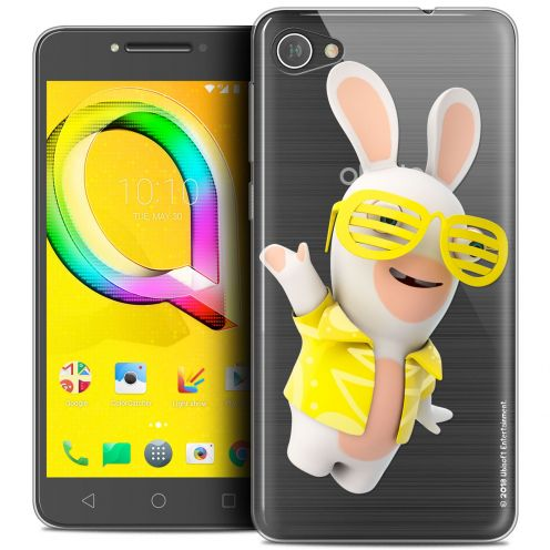 "Coque Gel Alcatel A5 LED (5.2"") Extra Fine Lapins Crétins™ - Sun Glassss!"