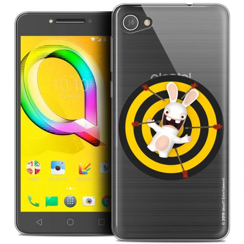 """Coque Gel Alcatel A5 LED (5.2"""") Extra Fine Lapins Crétins™ - Target"""