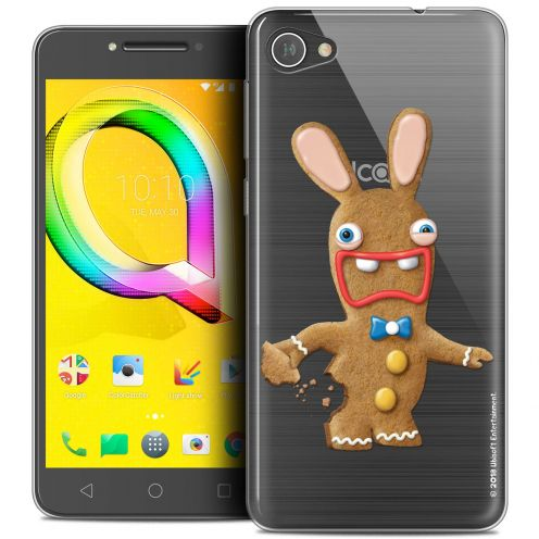 """Coque Gel Alcatel A5 LED (5.2"""") Extra Fine Lapins Crétins™ - Cookie"""