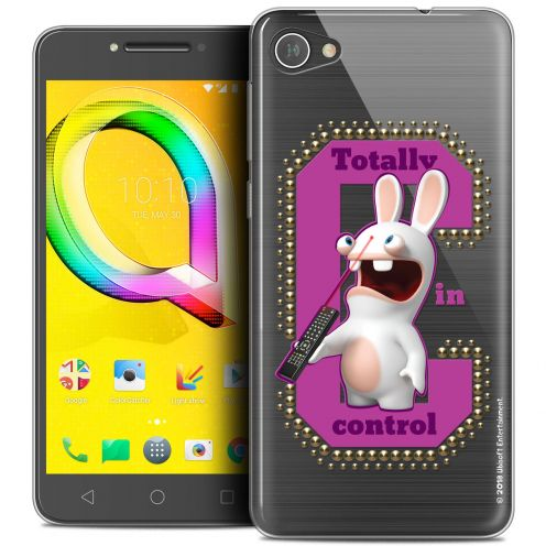 """Coque Gel Alcatel A5 LED (5.2"""") Extra Fine Lapins Crétins™ - In Control !"""