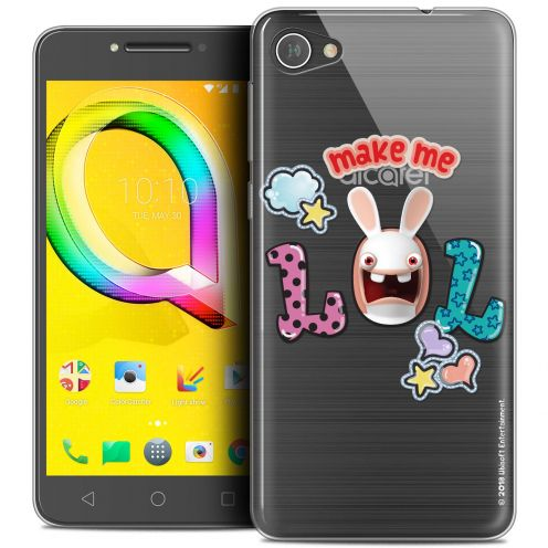 "Coque Gel Alcatel A5 LED (5.2"") Extra Fine Lapins Crétins™ - LOL"