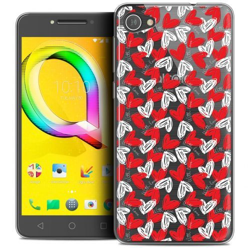 "Coque Crystal Gel Alcatel A5 LED (5.2"") Extra Fine Love - With Love"