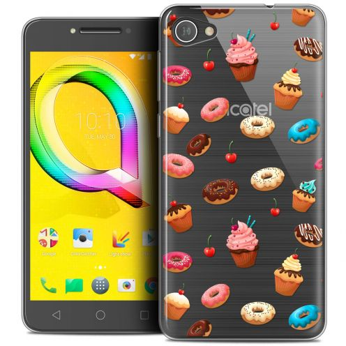 "Coque Crystal Gel Alcatel A5 LED (5.2"") Extra Fine Foodie - Donuts"