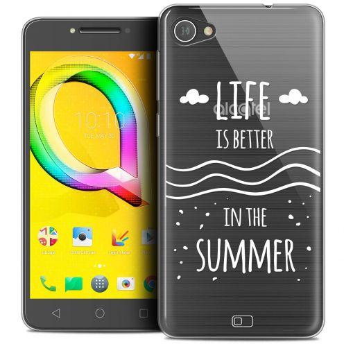"Coque Crystal Gel Alcatel A5 LED (5.2"") Extra Fine Summer - Life's Better"