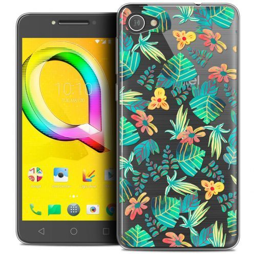 "Coque Crystal Gel Alcatel A5 LED (5.2"") Extra Fine Spring - Tropical"