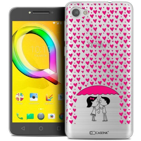 "Coque Crystal Gel Alcatel A5 LED (5.2"") Extra Fine Love - Pluie d'Amour"