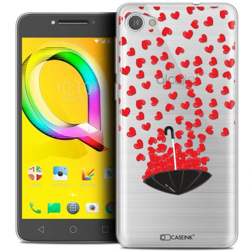 "Coque Crystal Gel Alcatel A5 LED (5.2"") Extra Fine Love - Parapluie d'Amour"