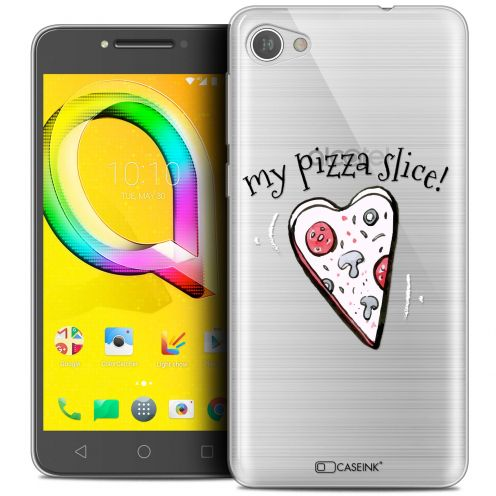 "Coque Crystal Gel Alcatel A5 LED (5.2"") Extra Fine Love - My Pizza Slice"