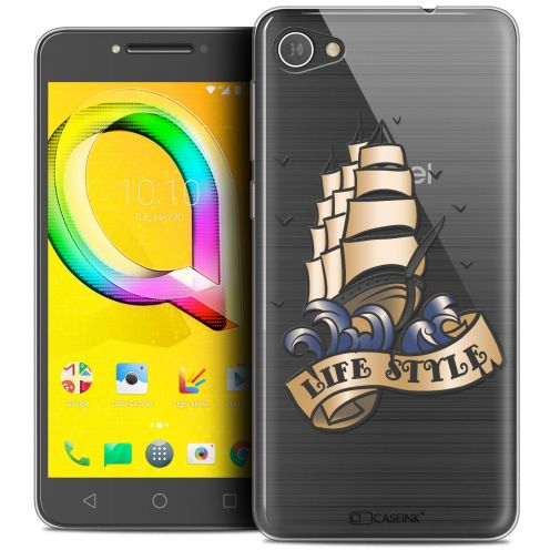 "Coque Crystal Gel Alcatel A5 LED (5.2"") Extra Fine Tatoo Lover - Life Style"
