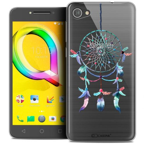 "Coque Crystal Gel Alcatel A5 LED (5.2"") Extra Fine Dreamy - Attrape Rêves Rainbow"